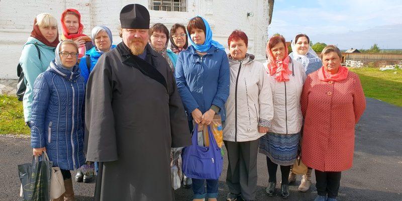 Сотрудники библиотек посетили Соликамский мужской монастырь