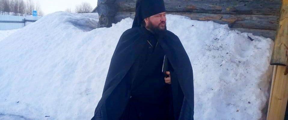 Пастырский визит в скит прп. Трифона Вятского