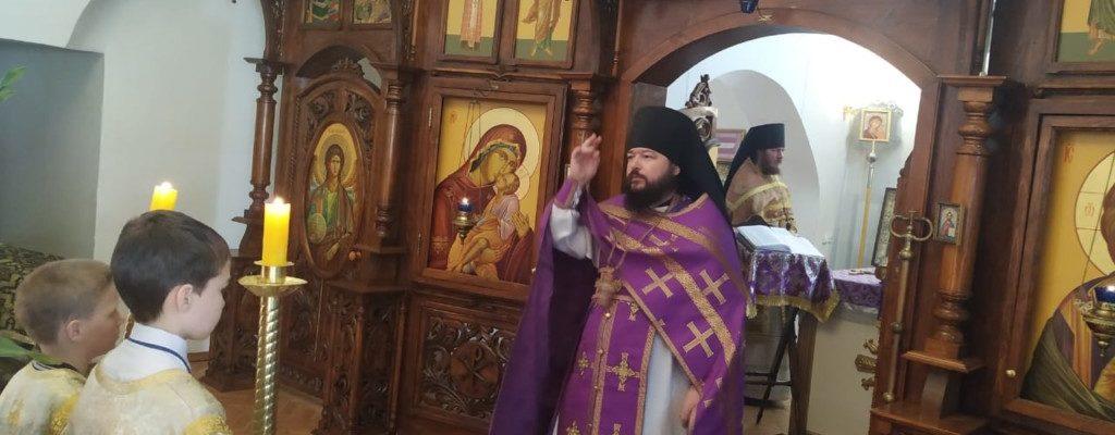 Неделя 4-я Великого поста. Преподобного Иоанна Лествичника.